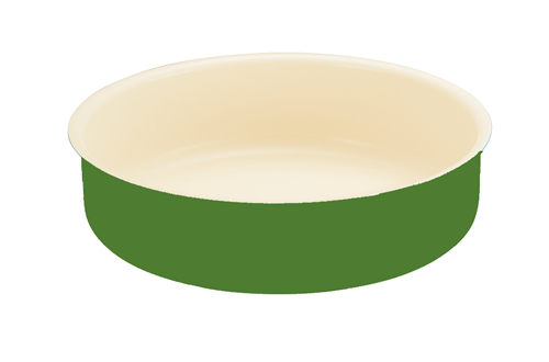 Blanc B20BTR-GN 20cm Baking Tray(Green)