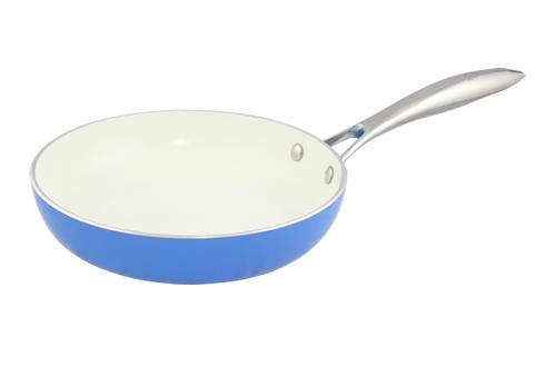 Blanc B24FPSS-B 24cm Open Fry Pan(Blue)