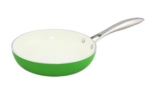 Blanc B24FPSS-GN 24cm Open Fry Pan(Green)