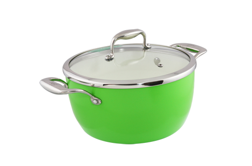 Blanc B24PSS-GN 24cm Covered Pot(Green)