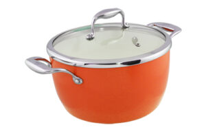 Blanc B24PSS-O 24cm Covered Pot(Orange)
