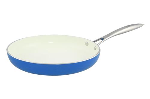Blanc B28FPSS-B 28cm Open Fry Pan(Blue)