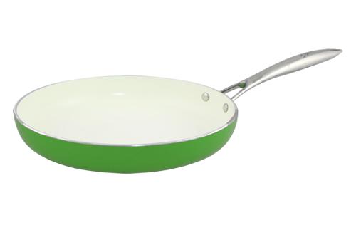 Blanc B28FPSS-GN 28cm Open Fry Pan(Green)