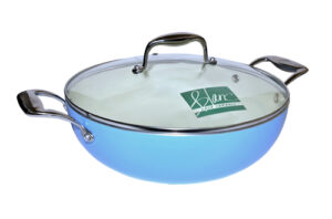 Blanc B28WSS-B 28cm Covered Wok(Blue)