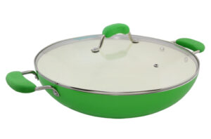 Blanc B36W-GN 36cm Covered Wok(Green)