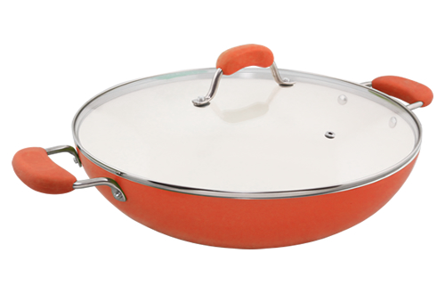 Blanc B36W-O 36cm Covered Wok(Orange)