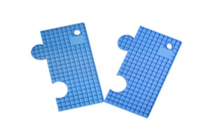 Blanc Plus BMM-B Multi-purpose Silicon Mat(Blue)