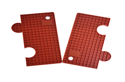 Blanc Plus BMM-R Multi-purpose Silicon Mat(Red)