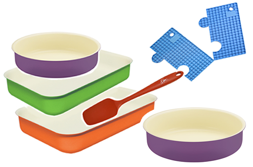 Blanc Cookware Bundle Set for Ovens