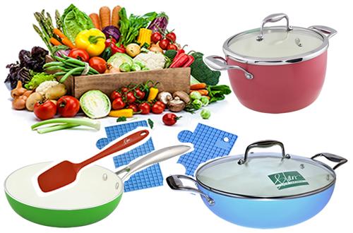 Blanc Cookware Bundle Set for T773 Hobs