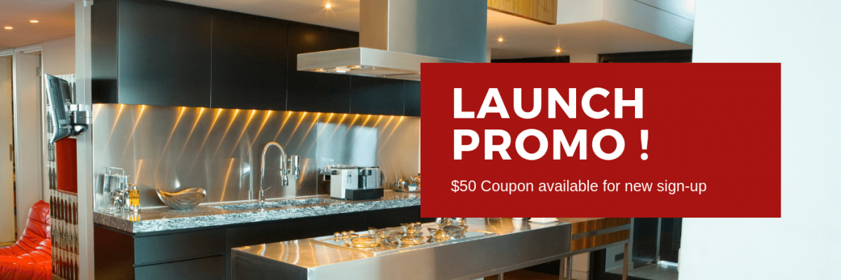 Launch Promo - Sign up to get $50 coupon